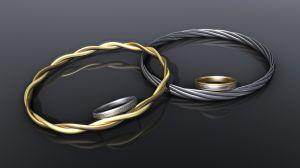 Tűzzománc gyűrű
