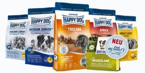 A Happy Dog kutyatáp összetétele egészséges