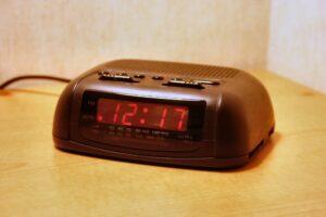 Az ébresztőóra fontos