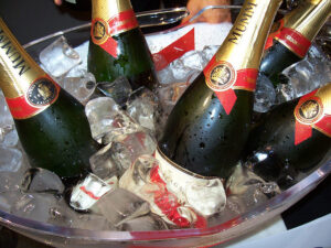 Eredeti Francia pezsgő